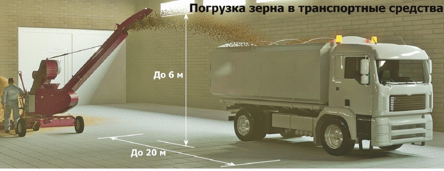 Зерно-перерабатывающий комплекс ЗМП-ПСМ  PrMzs410